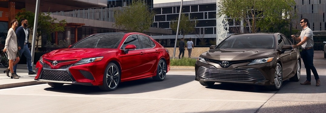 Exciting new color options for the 2020 Toyota Camry!
