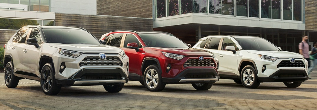 Check out how much power is under the hood of the 2019 Toyota RAV4 Hybrid!