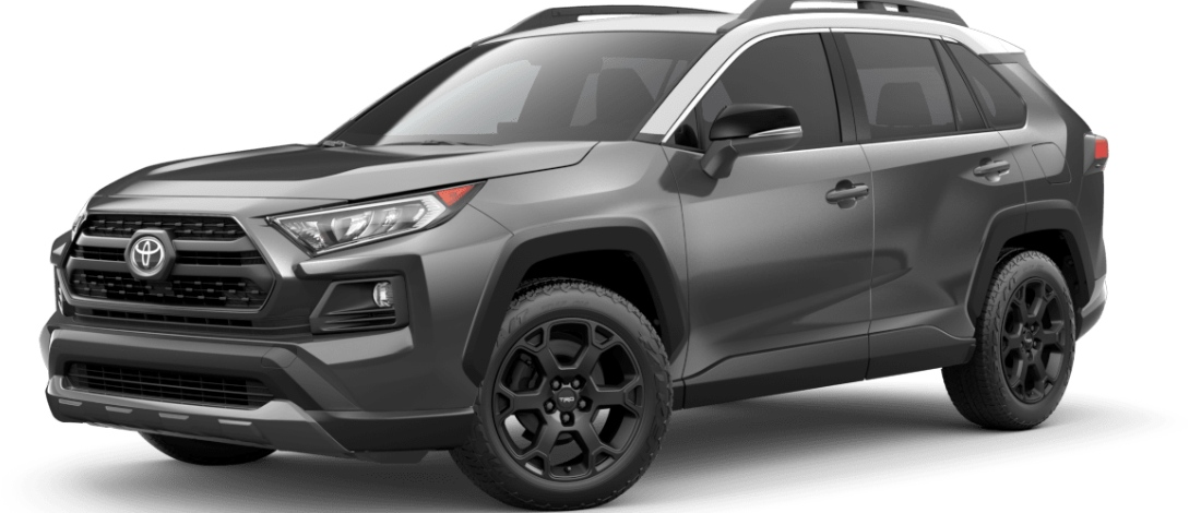 2020 Toyota RAV4 Magnetic Gray Metallic with Ice Edge Roof