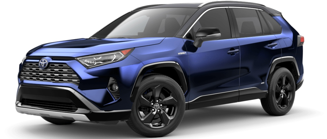 2020 Toyota RAV4 Blueprint with Midnight Black Metallic Roof