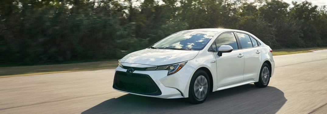 Learn about the fuel economy of the newly designed Toyota Corolla!