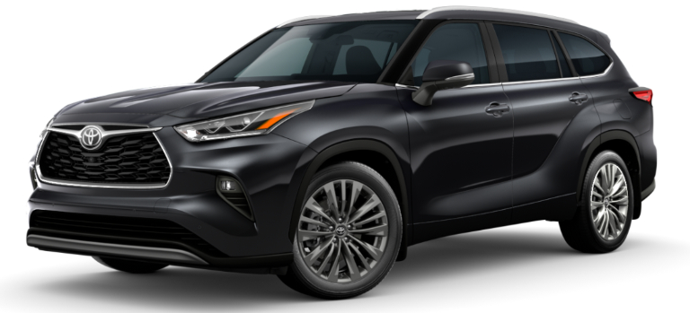 2020 Toyota Highlander Midnight Black Metallic