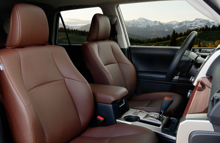2020 Toyota 4Runner Front Seats