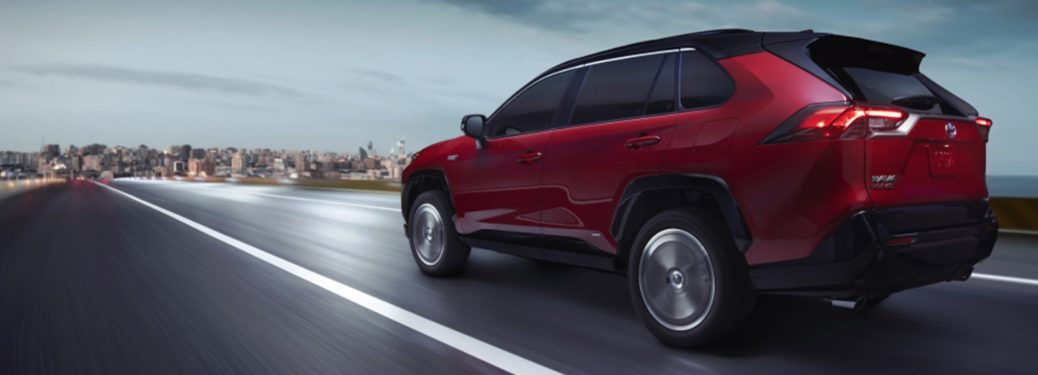2021 Toyota RAV4 Prime cruising along to its next adventure