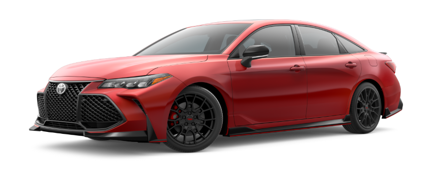 2020 Toyota Avalon Supersonic Red