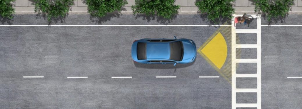 Toyota Pre-Collision with Pedestrian Detection System