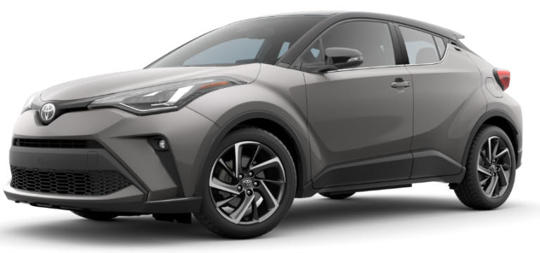 2020 Toyota C-HR Silver Knockout Metallic R-Code Black