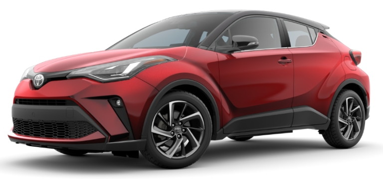 2020 Toyota C-HR Supersonic Red R-Code Black