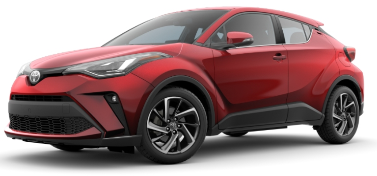 2020 Toyota C-HR Supersonic Red