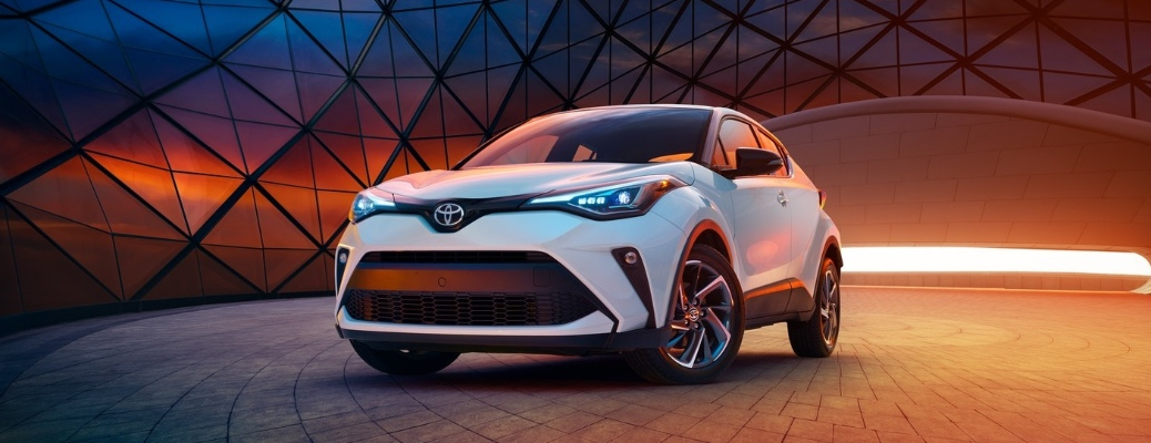 What colors does the 2020 Toyota C-HR come in?