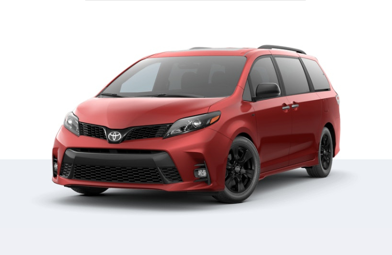 2020 Toyota Sienna Salsa Red Pearl