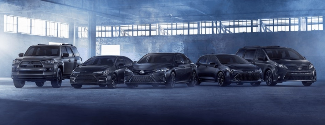 Family of the 2020 Toyota nightshade Edition vehicles