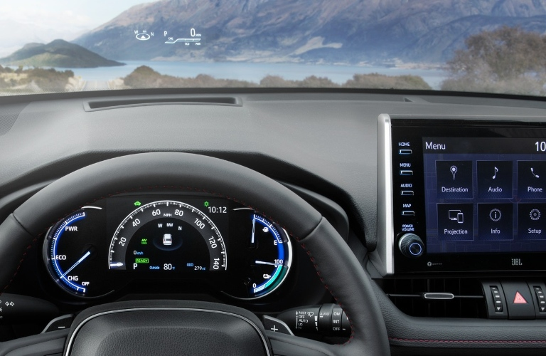 Behind the wheel in the 2021 Toyota RAV4 Prime