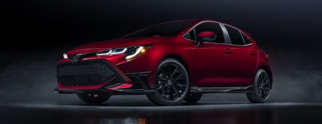 The 2021 Toyota Corolla Hatchback Special Edition is stunning and spacious!