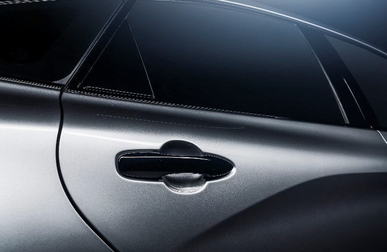 2021 Toyota Avalon XSE Nightshade Edition close up of the back door