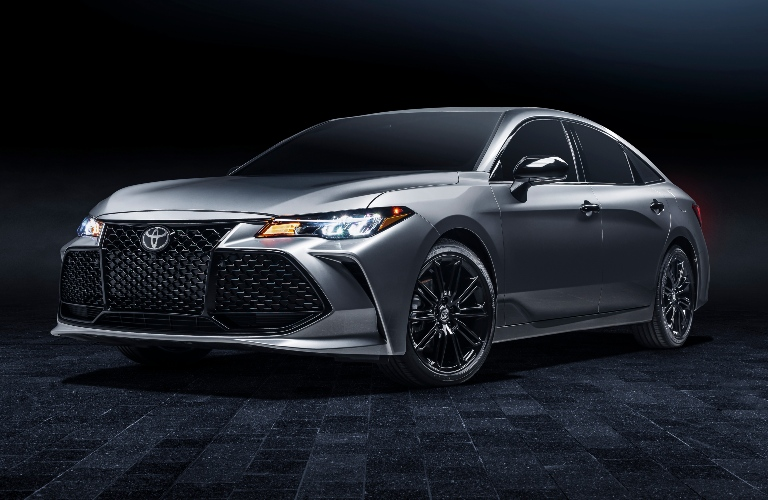 Front end of the 2021 Toyota Avalon XSE Nightshade Edition