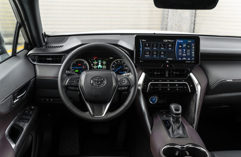 Behind the wheel of the 2021 Toyota Venza