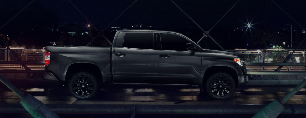 2021 Toyota Tundra Nightshade Edition profile view