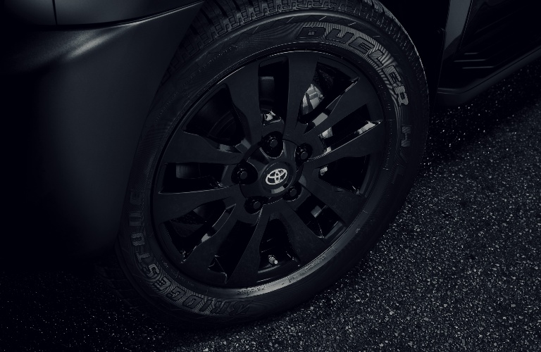 2021 Toyota Sequoia Nightshade Edition tire