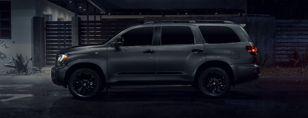 The 2021 Toyota Sequoia will now be available with Nightshade Edition!