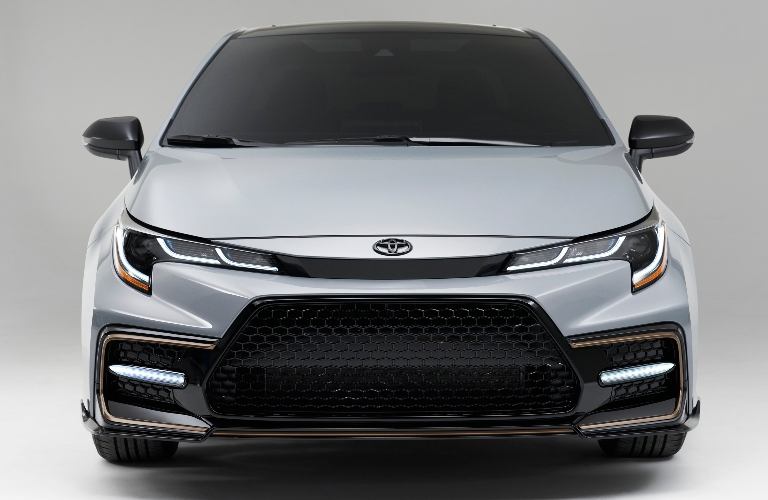 2021 Toyota Corolla Apex Edition front end