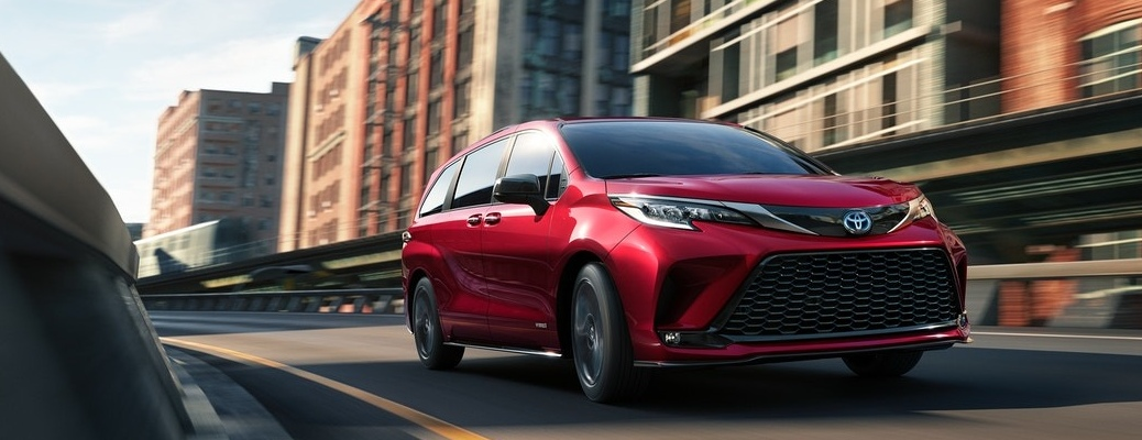 Find a new hybrid minivan at Fox Toyota!