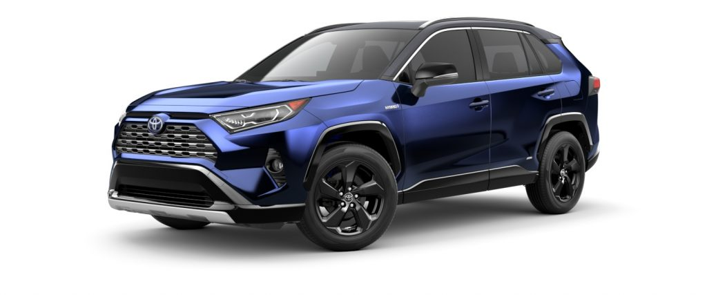 2021 Toyota RAV4 Blueprint with Midnight Black Roof