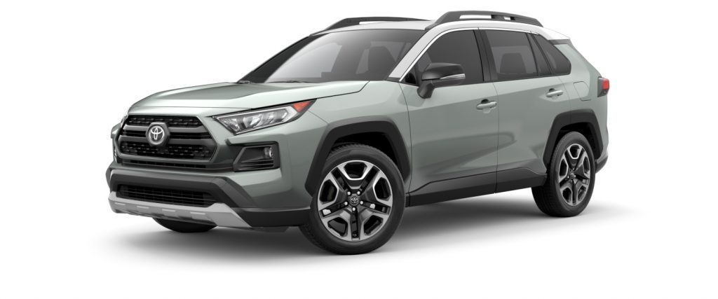 2021 Toyota RAV4 Lunar Rock with Ice Edge Roof