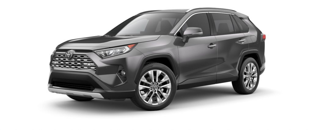2021 Toyota RAV4 Magnetic Gray Metallic