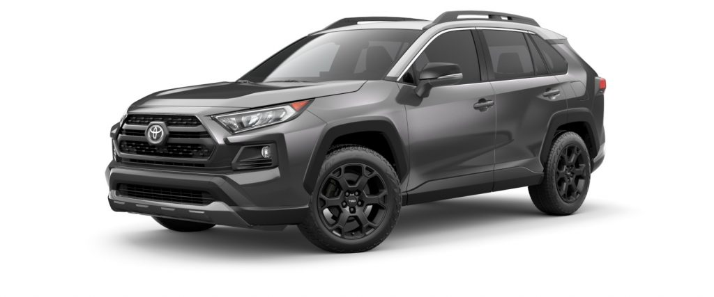 2021 Toyota RAV4 Magnetic Gray with Ice Edge Roof