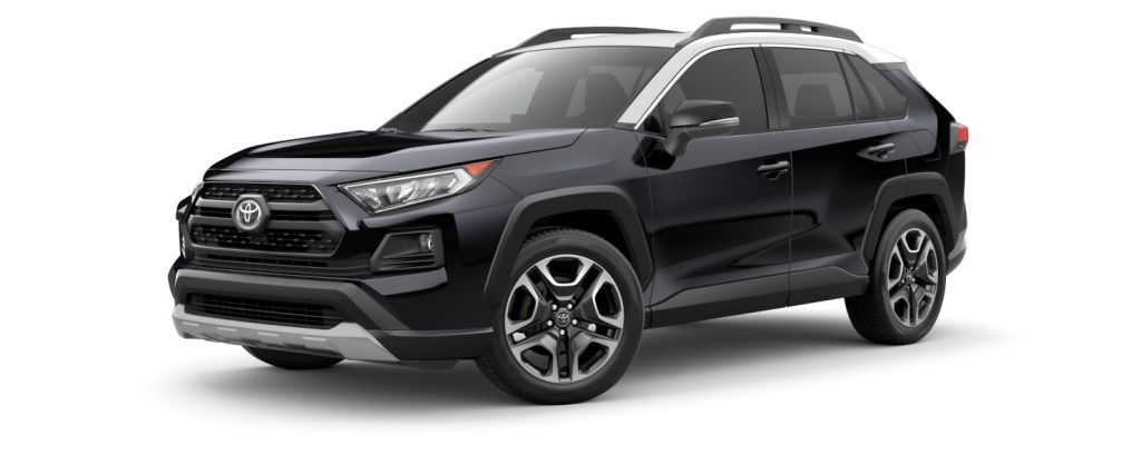 2021 Toyota RAV4 Midnight Black with Ice Edge Roof