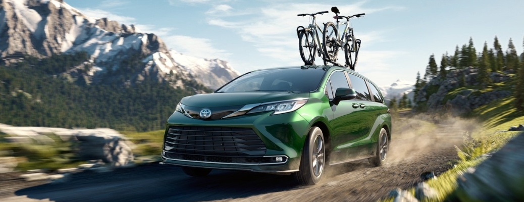 Learn about how much space is available inside of the 2021 Toyota Sienna!