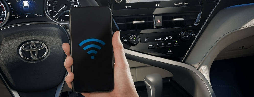 Stay connected in your new Toyota vehicle!