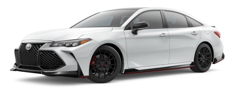 2021 Toyota Avalon wind chill pearl with midnight black metallic roof