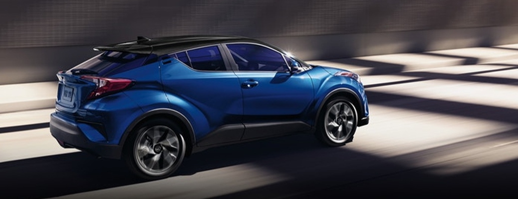 2021 Toyota C-HR driving away