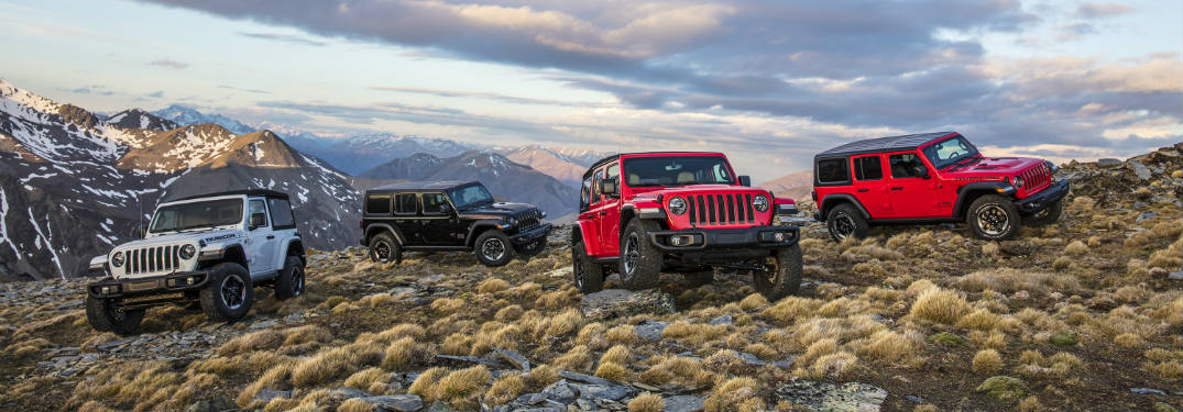New Wrangler Continues Jeep Off-Road Tradition
