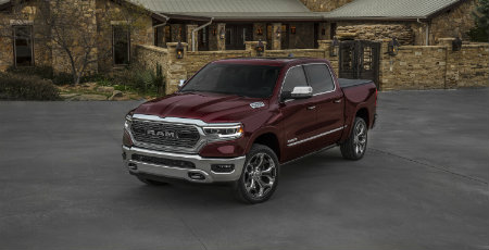 2019 RAM 1500 exterior red front