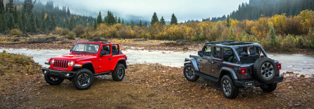 How many trim levels are offered on the new Wrangler?