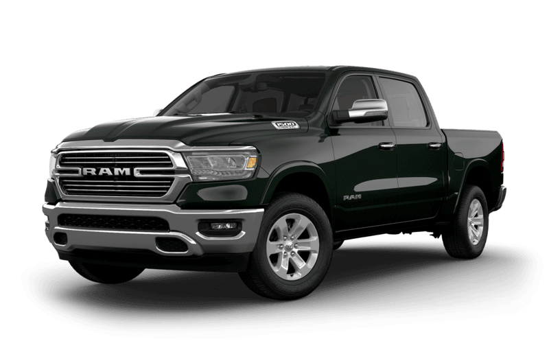 2019 RAM 1500 Black Forest Green Pearl side view