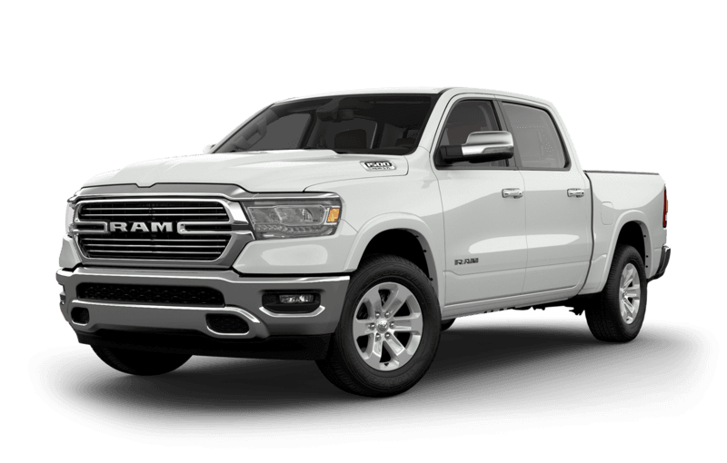 2019 RAM 1500 Ivory Pearl side view
