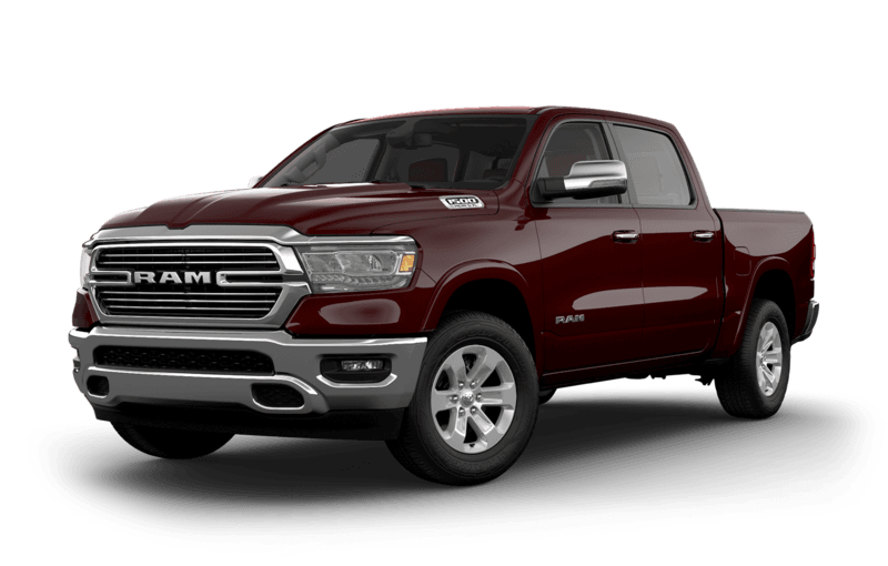 2019 RAM 1500 Red Pearl side view