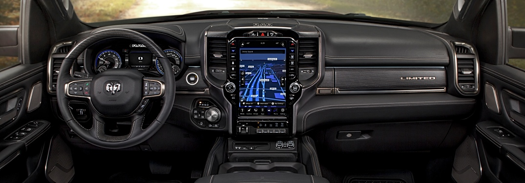 2019 RAM 1500 Uconnect options and features