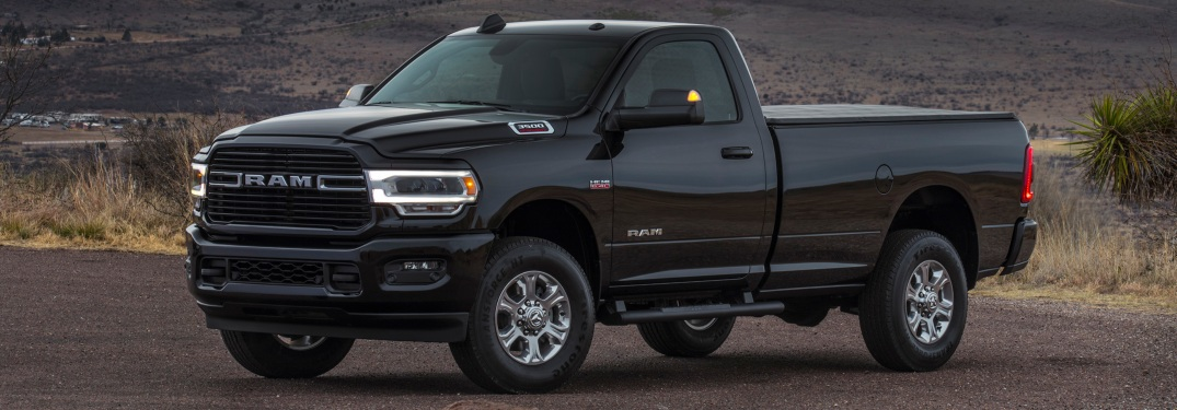 New body style for the 2019 RAM Heavy Duty trucks