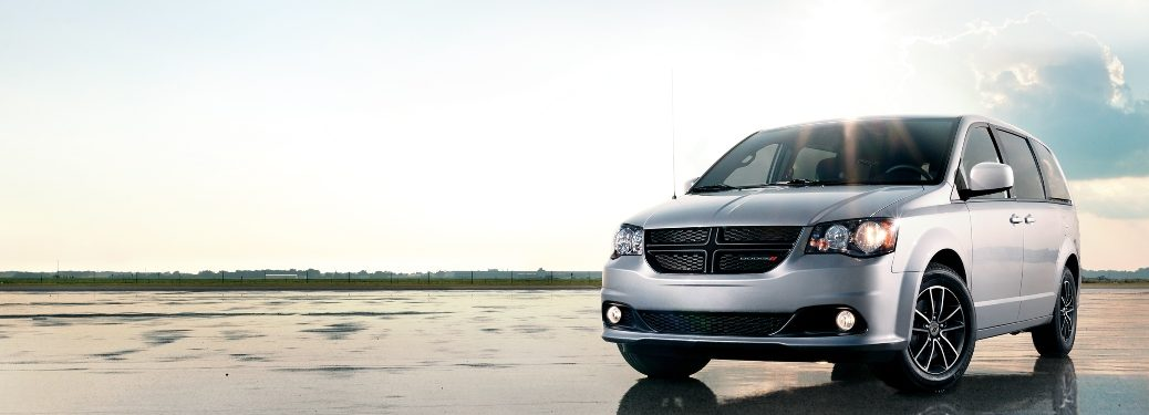 2019 Dodge Grand Caravan with pretty background