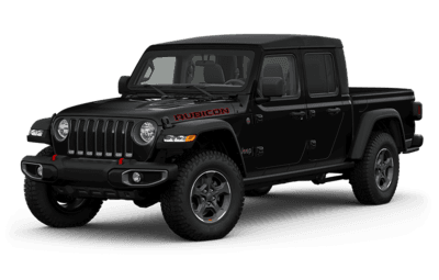 2020 Jeep Gladiator black side view