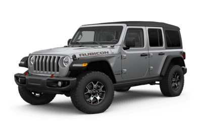 2019 Jeep Wrangler gray side view
