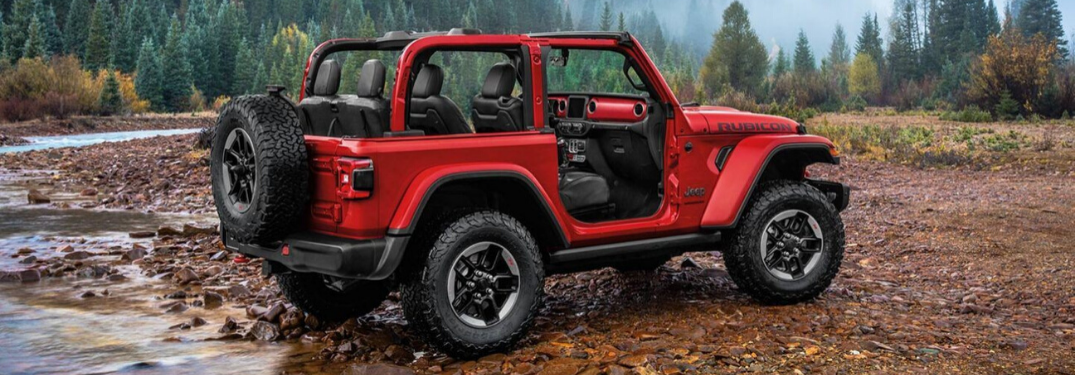What Trims are on the 2020 Jeep Wrangler?
