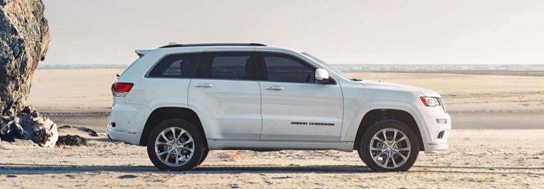 What is the Maximum Horsepower of the 2020 Jeep Grand Cherokee?
