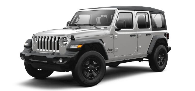 2021 Jeep Wrangler Sting Gray color