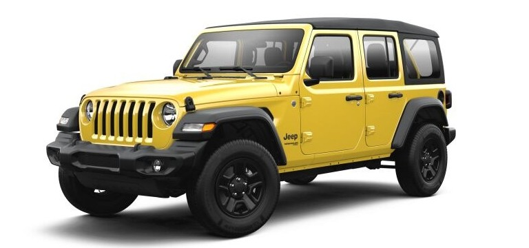 2021 Jeep Wrangler Hellayella color